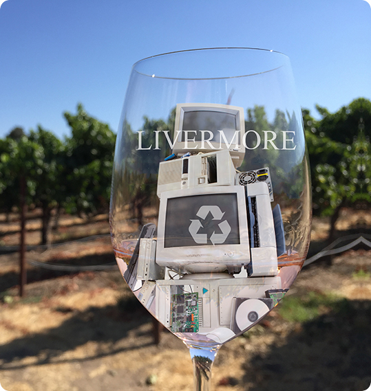llivermore-ewaste-wine-glass